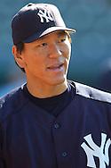 New York Yankees Hidecki Matsui.