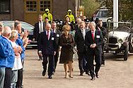 Opening bezoekerscentrum Woudagemaal door prinses Margriet.
