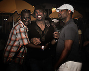 People dancing, partying, and have a good time at Lee Jones's open air Sundae dance party in 2009. This weekly event is held at the the Piazza at Schmidt's in Northern Liberties in Philadelphia each Sunday. Photos in this group are from Sundae with Aaron Dae, Dirty24K, and Pete Moss.