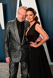 Jared Harris and Allegra Riggio attending the Vanity Fair Oscar Party held at the Wallis Annenberg Center for the Performing Arts in Beverly Hills, Los Angeles, California, USA.