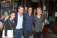 LONDON - July 01: Louise Thompson, Francis Boulle, Andy Jordan & Jamie Laing at the A Curious Night at the Theatre - Gala Evening (Photo by Brett D. Cove)