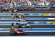April 22-24, 2016: NHRA 4 Wide Nationals: Tim Wilkerson, wins the funny car 4 wide nationals