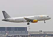EC-KDX Vueling Airbus A320-216 Photographed at Malpensa airport, Milan, Italy
