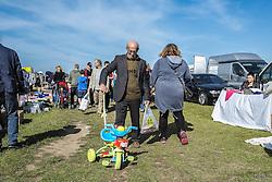 A car boot sale in Essex.