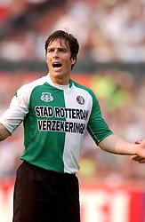01-06-2003 NED: Amstelcup finale FC Utrecht - Feyenoord, Rotterdam<br /> FC Utrecht pakt de beker door Feyenoord met 4-1 te verslaan / Gerard de Nooijer