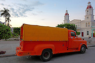 Heavy duty pickup truck in Manzanillo, Granma Province, Cuba.