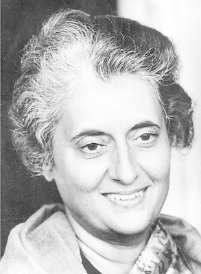 Feb. 5, 1970 - New Delhi, India - India's first and only female prime minister INDIRA GANDHI made strides in modernizing India but never quelled its political turmoil. She won the election of 1972 in a landslide, but courts later upheld charges of election fraud in 1975. In 1977, she was toppled from power, later regaining her post as prime minister in 1980. (Credit Image: © Keystone Press Agency/Keystone USA via ZUMAPRESS.com)