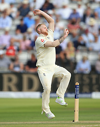 England's Ben Stokes during day two of the First Investec Test match at Lord's, London. PRESS ASSOCIATION Photo. Picture date: Friday July 7, 2017. See PA story CRICKET England. Photo credit should read: Nigel French/PA Wire. RESTRICTIONS: Editorial use only. No commercial use without prior written consent of the ECB. Still image use only. No moving images to emulate broadcast. No removing or obscuring of sponsor logos.