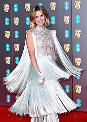 Alice Eve attending the 73rd British Academy Film Awards held at the Royal Albert Hall, London.