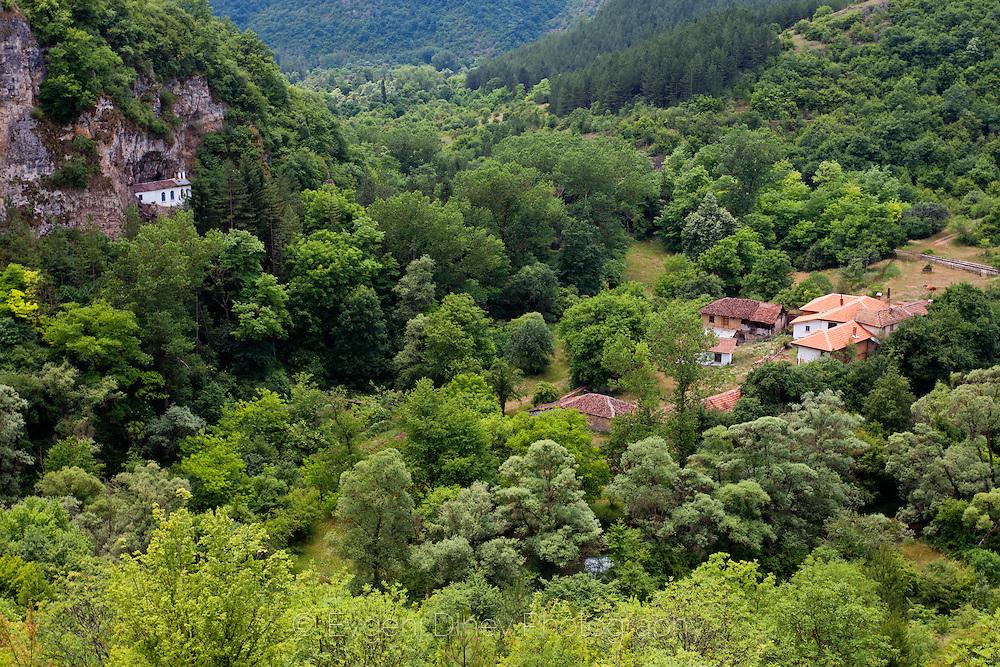 Old and new Razboishki monasteries