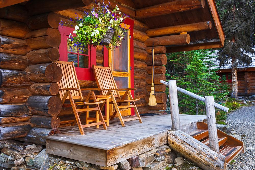 Cabin at Lake O'hara, Yoho National Park, British Columbia, Canada
