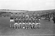 Cork team before the All Ireland Minor Gaelic Football Final Sligo v. Cork in Croke Park on the 22nd September 1968.