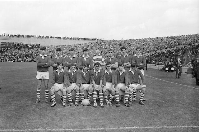 Cork team before the All Ireland Minor Gaelic Football Final Sligo v. Cork in Croke Park on the 22nd September 1968.