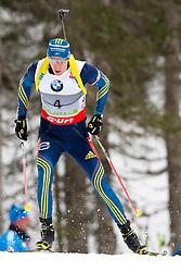 FERRY Bjoern of Sweden during Men 10 km Sprint of the e.on IBU Biathlon World Cup on Thursday, March 6, 2014 in Pokljuka, Slovenia. The first e.on IBU World Cup stage is taking place in Rudno polje - Pokljuka, Slovenia until Sunday March 9, 2014. Photo by Matic Klansek Velej / Sportida