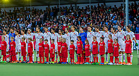 ANTWERP - BELFIUS EUROHOCKEY Championship  . Belgium v Spain (men) (5-0). line up team Spain WSP/ KOEN SUYK
