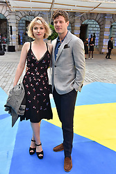 Imogen Poots and James Norton at the Royal Academy Of Arts Summer Exhibition Preview Party 2018 held at The Royal Academy, Burlington House, Piccadilly, London, England. 06 June 2018.