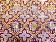 Decorative tiles Islamic motif