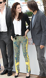 Kristen Stewart  at the Cannes Film Festival for their new film On The Road, Wednesday, 23rd  May 2012. Photo by: Stephen Lock / i-Images