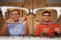 Mohsin Momin and Azim Karedia of Benji Frank eyeglasses