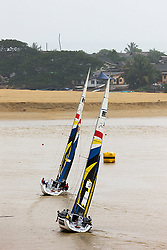 2008 Monsoon Cup. Nurul Ain leading Paolo Cian at the first top mark.  (Thursday  5th December 2008). .