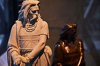 France, Côte-d'Or (21), Alise-Sainte-Reine, site de la bataille d'Alésia, le MuséoParc d'Alésia avec la centre d'interprétation par l'achitecte Bernard Tschumi // France, Côte-d'Or, Alise-Sainte-Reine, Alésia battle site, Alésia park and museum