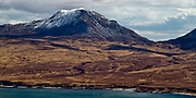 The highest of the 3 Paps of Jura, this image is from a view from Sgarbh Breac on Islay