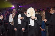 THOMAS ROCKALL, Ball at to celebrateBlanche Howard's 21st and  George Howard's 30th  birthday. Dress code: Black Tie with a touch of Surrealism. Castle Howard. Yorkshire. 14 November 2015