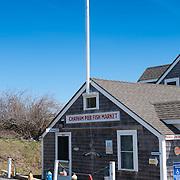 Chatham pier fish market on Cape Cod, MA