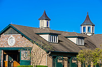 Stables, Winstar Farm, Versailles (Lexington), Kentucky USA.