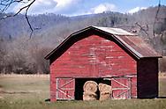 A barn in western North Carolina