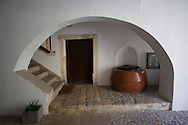 Inner house entrance with well - Sopron, Hungary