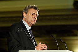 © under license to London News Pictures. 19/10/2010. Dave Prentis of UNISON at the All Together for Public Services Rally against government cuts in Central London.