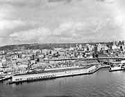 """0103-A028""""Port of Seattle. September 20, 1958"""" Pier 66, the Bell Street Pier."""