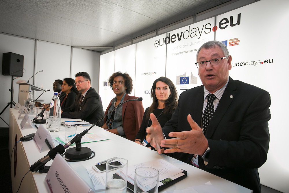 03 June 2015 - Belgium - Brussels - European Development Days - EDD - Migration - Migrants matter for development - New actors and energies in a new development agenda - Mohamed Assouali , Head of Operations , Morocco Red Crescent © European Union