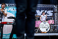 "The New Jersey band ""For the Foxes"" performed at the Shoreline Amphitheater on June 22, 2013 during the 2013 Vans Warped Tour. The four members are Nicholas Francis (vocals), Jimmy Brindley (guitar), Danny Vassallo (drums) and<br />