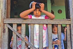 Children Behind Gate