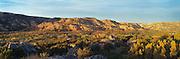 sunrise in Palo Duro Canyon