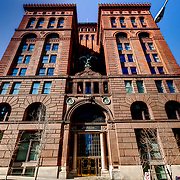 Old New York Life Building, KC's first high-rise, 9th & Baltimore Streets, downtown Kansas City, MO.