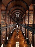 Photographer: Chris Hill, The Long Room, Trinity University, Dublin