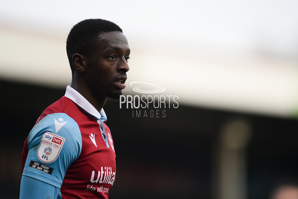 Scunthorpe United Abo Eisa (11) half body portrait during the EFL Sky Bet League 2 match between Scunthorpe United and Grimsby Town FC at the Sands Venue Stadium, Scunthorpe, England on 23 January 2021.
