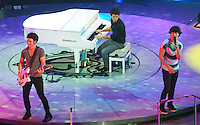 The Jonas Brothers perform at the Sommet Center in Nashville, Tennessee on Friday, July, 2009. (Photo by Frederick Breedon) Photo © Frederick Breedon. All rights reserved. Unauthorized duplication prohibited.