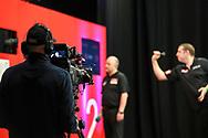 Camera view of Kirk Shepherd during the Ladbrokes UK Open at Stadium:MK, Milton Keynes, England. UK on 5 March 2021.