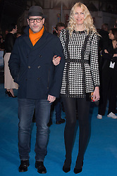 """Matthew Vaughn and Claudia Schiffer attends the European premiere for """"Eddie the Eagle at Odeon Leicester Square in London, 17.03.2016. EXPA Pictures © 2016, PhotoCredit: EXPA/ Photoshot/ Euan Cherry<br /> <br /> *****ATTENTION - for AUT, SLO, CRO, SRB, BIH, MAZ, SUI only*****"""