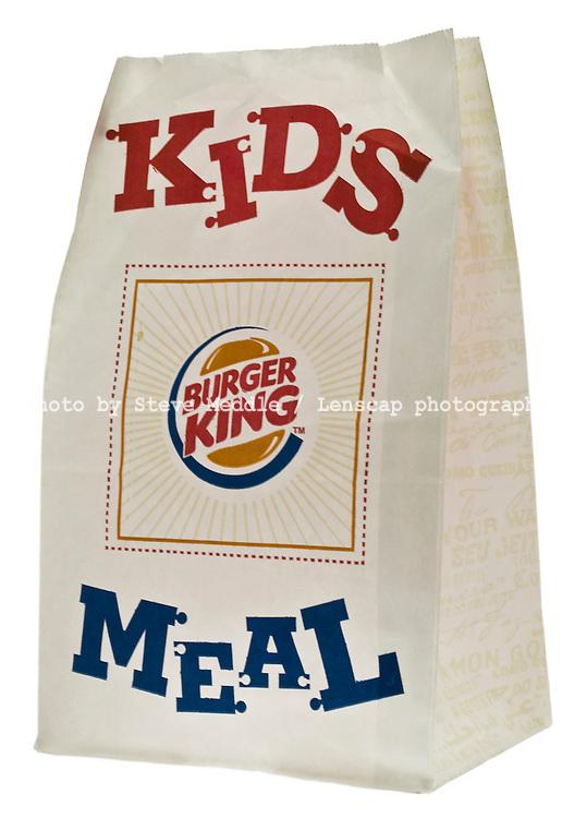 Burger King Kids Meal to Take Away