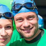 NLD/Amsterdam/20170903 - Amsterdam City Swim 2017, Jelle de Jong en Anne Lamsveld