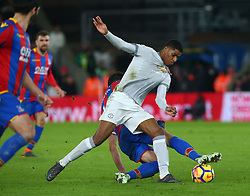 March 5, 2018 - London, United Kingdom - Manchester United's Marcus Rashford.during the Premiership League  match between Crystal Palace and Manchester United at Selhurst Park Stadium in London, England on 05 March 2018. (Credit Image: © Kieran Galvin/NurPhoto via ZUMA Press)