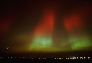 Northern lights or aurora borealis <br /> Winnipeg<br /> Manitoba<br /> Canada