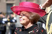 State visit of Luxembourg to the Netherlands /<br /> Staatsbezoek van Luxemburg aan Nederland<br /> <br /> On the photo / Op de foto;<br />  Queen Beatrix / Koningin Beatrix