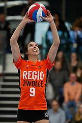 20180331 NED: Eredivisie Sliedrecht Sport - Regio Zwolle, Sliedrecht <br />Kim Robitaille (9) of Regio Zwolle <br />©2018-FotoHoogendoorn.nl / Pim Waslander