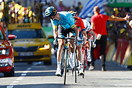 Magnus Cort Nielsen (DEN - Astana Pro Team) during the 105th Tour de France 2018, Stage 15, Millau - Carcassonne (181,5 km) on July 22th, 2018 - Photo Luca Bettini / BettiniPhoto / ProSportsImages / DPPI